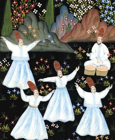 Sufis e seus tambores